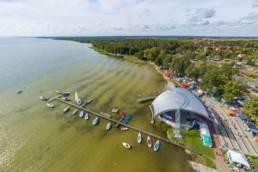 Amfiteatr nad jeziorem Miedwie