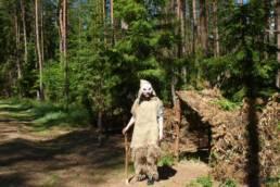 Wioska Hobbitów w Sierakowie Sławieńskim